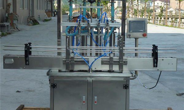 Avtomatik fıstıq pastası doldurma maşını