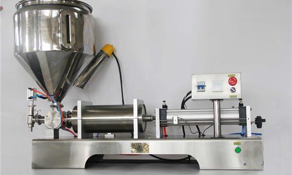 CE GMP ilə yüksək dəqiqlikli yarı avtomatik qarışıq meyvə cem doldurma maşını