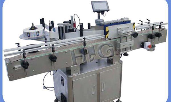 Avtomatik NPACK dəyirmi şüşə etiket markalı maşın istehsalçısı printer ilə