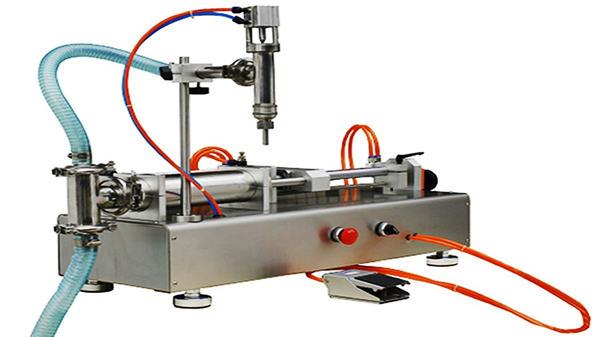 Cüt başlar pnevmatik krem doldurma maşını 100-1000ml