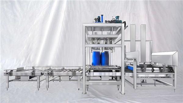 Özelleştirilebilir ESDF seriyası 100-1000L Tutumlu böyük baraban avtomatik doldurma maşını