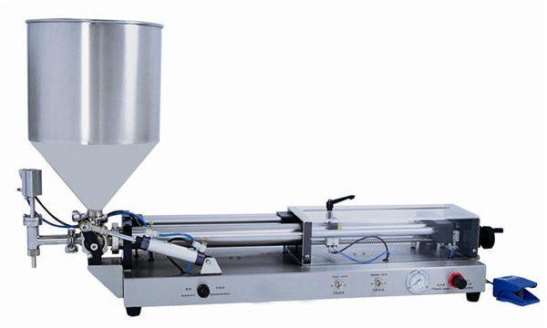 3mL-5L üçün yarı avtomatik yapışdırma doldurma maşını